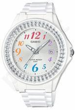 Laikrodis CASIO LX-500H-7B kvarcinis. moteriškas Resin strap. strass. Data. WR 50mt. **ORIGINAL BOX**