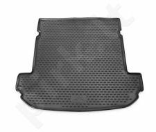 Guminis bagažinės kilimėlis KIA Sorento 2015->  (7 seats, folded 3th row) black /N21034