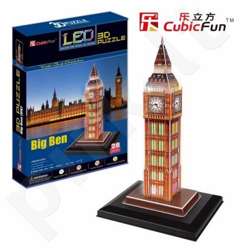 3D dėlionė: Big Ben (su LED apšvietimu)