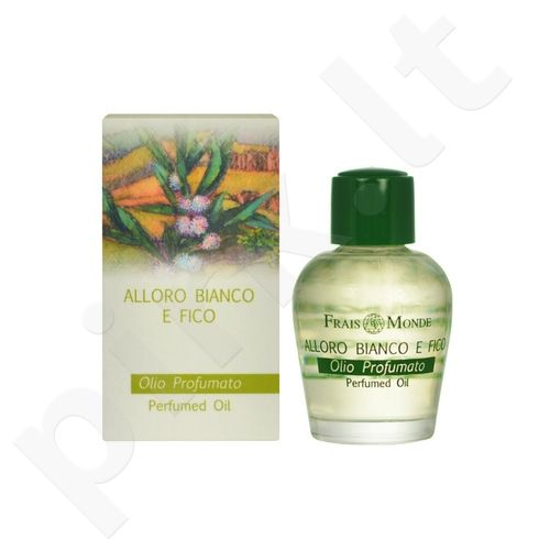 Frais Monde White Laurel And Fig Perfumed Oil, parfumuotas aliejus moterims, 12ml