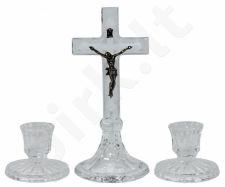 Sviejų žvakidžių ir kryžiaus rinkinys 73710