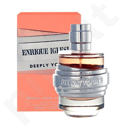Enrique Iglesias Deeply Yours, EDT moterims, 60ml