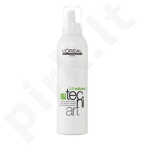 L´Oreal Paris Tecni Art Full Volume Foam, 250ml, plaukų putos