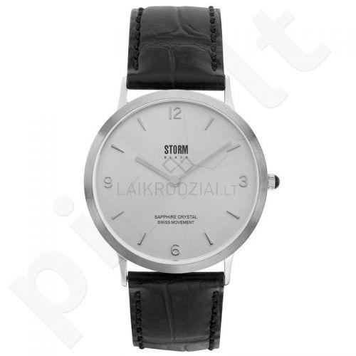 Vyriškas laikrodis Storm Black Sigma Silver