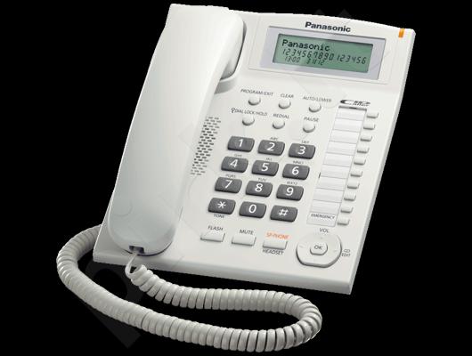Telefonas Panasonic KX-TS880FXW