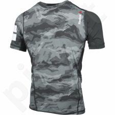 Marškinėliai treniruotėms Reebok ONE Series Elite Quik Cotton Compression M AJ0833