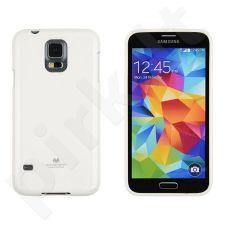 Samsung Galaxy S5 dėklas JELLY Mercury baltas