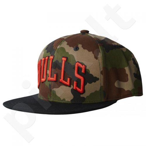 Kepurė  su snapeliu Adidas ORIGINALS NBA Bulls Tech AY9410