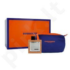Dsquared2 Wood rinkinys vyrams, (EDT 50ml + kosmetikos krepšys)