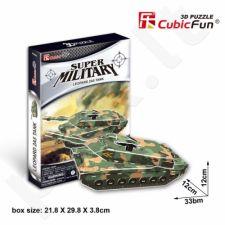 3D dėlionė: tankas Leopard 2A5
