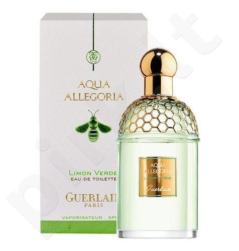 Guerlain Aqua Allegoria Limon Verde, tualetinis vanduo moterims ir vyrams, 75ml