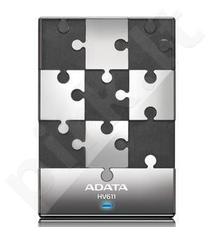 Adata External HDD Adata DashDrive HV611 1TB USB 3.0 PUZZLE WHITE/BLACK