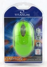 Optinė pelė Titanum TM102G USB | 1000 DPI |Žalia| Blisteris
