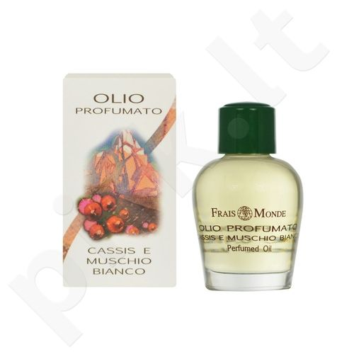 Frais Monde Cassis And White Musk Perfumed Oil, parfumuotas aliejus moterims, 12ml
