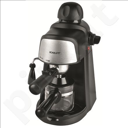 Kavos aparatas Scarlett SC-037R 800W espresso, cappuccino