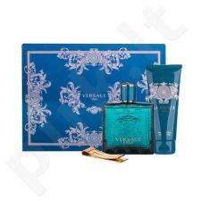 Versace Eros rinkinys vyrams, (EDT 100ml + dušo želė 100 ml + Sagtis banknotams)