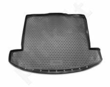 Guminis bagažinės kilimėlis KIA Carens 2013-> (folded 3th row) black /N21004