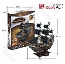 3D dėlionė: karalienės Anos laivas