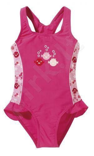 Maudimosi kostiumėlis mergaitėms UV SEALIFE 6881 4 128 pink