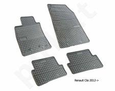 Guminiai  kilimėliai Renault Clio IV 2012-> /4pc, 0752IV