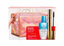 Collistar Infinito, rinkinys blakstienų tušas moterims, (blakstienų tušas 11 ml + Gentle Two Phase 50 ml + kosmetika krepšys), (Extra Black)
