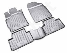 Guminiai kilimėliai 3D MAZDA CX 7 2006-2012, 4 pcs. /L45039G /gray
