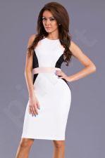 Emamoda suknelė - balta 8602-2