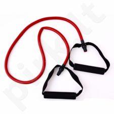 Guma Allright su rankenom 120x1,3x0,9 cm raudona