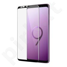 Tempered glass screen protector, Samsung Galaxy S9+, 3D full adhesive