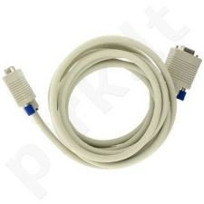 4World Monitoriaus prailginantis kabelis VGA D-Sub15 M/F 3m