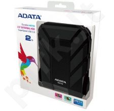 External HDD Adata DashDrive HD710 2TB USB3 Black, Waterproof & Shockproof