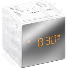 Sony ICF-C1TW clock radio with dual Alarm White