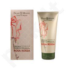 Frais Monde Red Rose kūno kremas, kosmetika moterims, 200ml