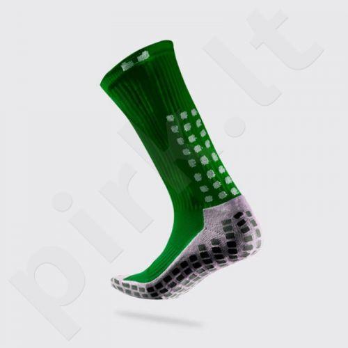 Kojinės futbolininkams Trusox Thin zielone