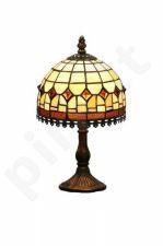 Vitražinė stalinė lempa 50541
