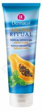 Dermacol Aroma Ritual, Papaya & Mint, dušo želė moterims, 250ml