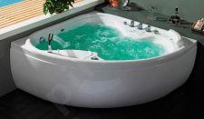 Masažinė vonia B1616 su oro ir hidromasažu