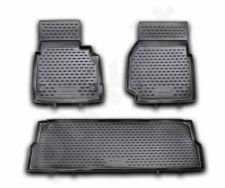 Guminiai kilimėliai 3D LAND ROVER Defender 110 5D 2007-2016, 3 pcs. /L40006