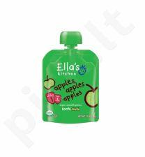 Obuolių tyrelė kūdikiams nuo 4 mėnesių ELLA'S KITCHEN, 70 g