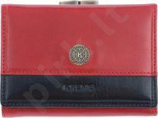KRENIG Scarlet 13011 raudona piniginė odinė, moterims