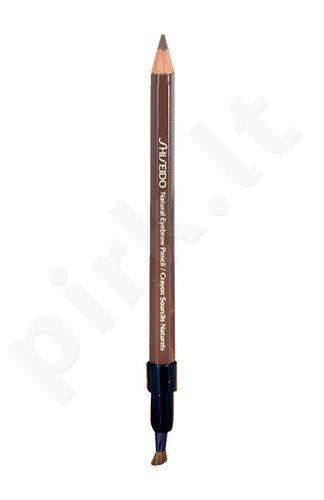 Shiseido Natural antakių kontūrų pieštukas, kosmetika moterims, 1,1g, (BR602 Deep Brown)