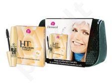 Dermacol Mega Lashes blakstienų tušas Kit 7034 rinkinys moterims, (13ml Mega Lashes blakstienų tušas + 6x6g Hyaluron Therapy 3D Eye Masc + krepšys) , (black)
