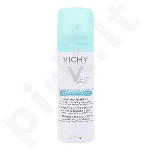 Vichy 48 Hour No Trace Anti-perspirantas purškiklis, kosmetika moterims, 125ml
