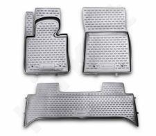 Guminiai kilimėliai 3D LAND ROVER Range Rover III 2001-2010->, 3 pcs. /L40022G /gray