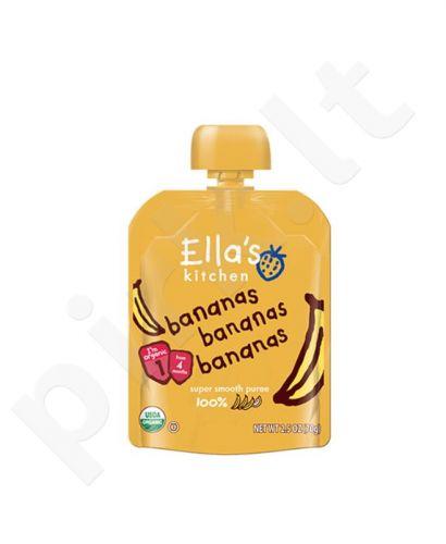 Bananų tyrelė kūdikiams nuo 4 mėnesių ELLA'S KITCHEN, 70 g