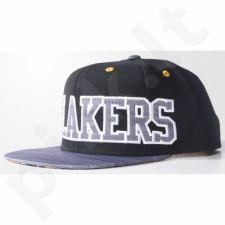Kepurė  su snapeliu Adidas Los Angeles Lakers Flat Cap AY6128