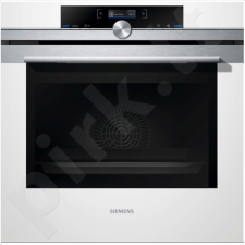 SIEMENS HB632GCW1S Medium, Stainless steel, White, Touch, Height 58.5 cm, Width 59.5 cm