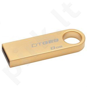 Kingston USB DataTraveler GE9 8GB (Gold Metal casing)