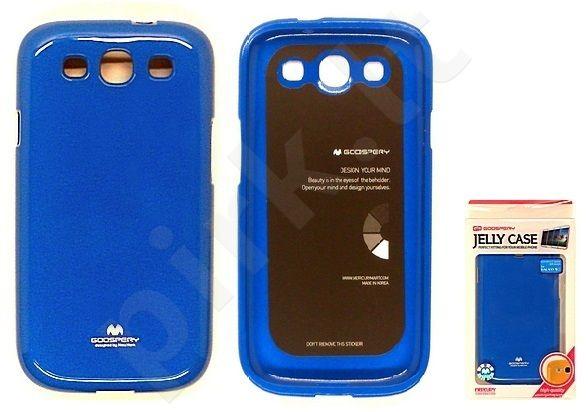Samsung Galaxy S3 dėklas JELLY Mercury mėlynas