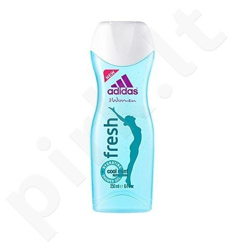 Adidas Fresh, 250ml, dušo želė moterims